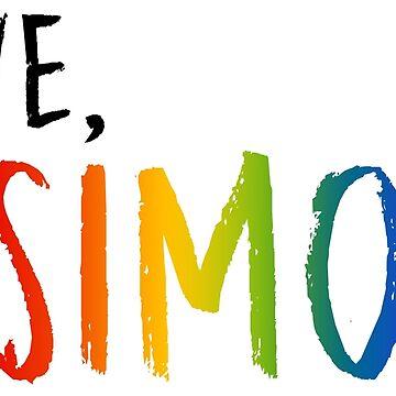 Love, Simon - Pride Rainbow by austinelgort