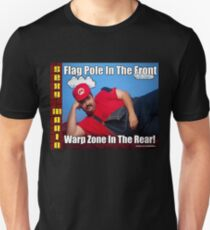 SexyMario MEME - Flag Pole In The Front, Warp Zone In The Rear! 2 T-Shirt