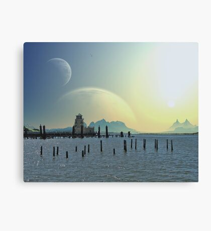 Land of the Golden Sun Canvas Print