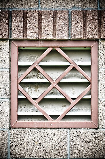 Geometric Window Covering by Ariston Collander