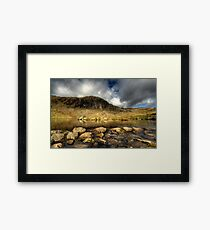 Pavey Ark & Stickle Tarn Framed Print