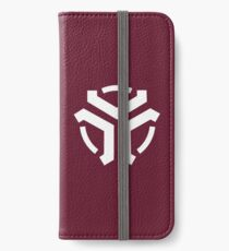 Vergeron Logo Sangria iPhone Wallet/Case/Skin