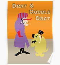 Drat & Double Drat Poster