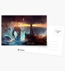 The Abyss Looks Back Postcards