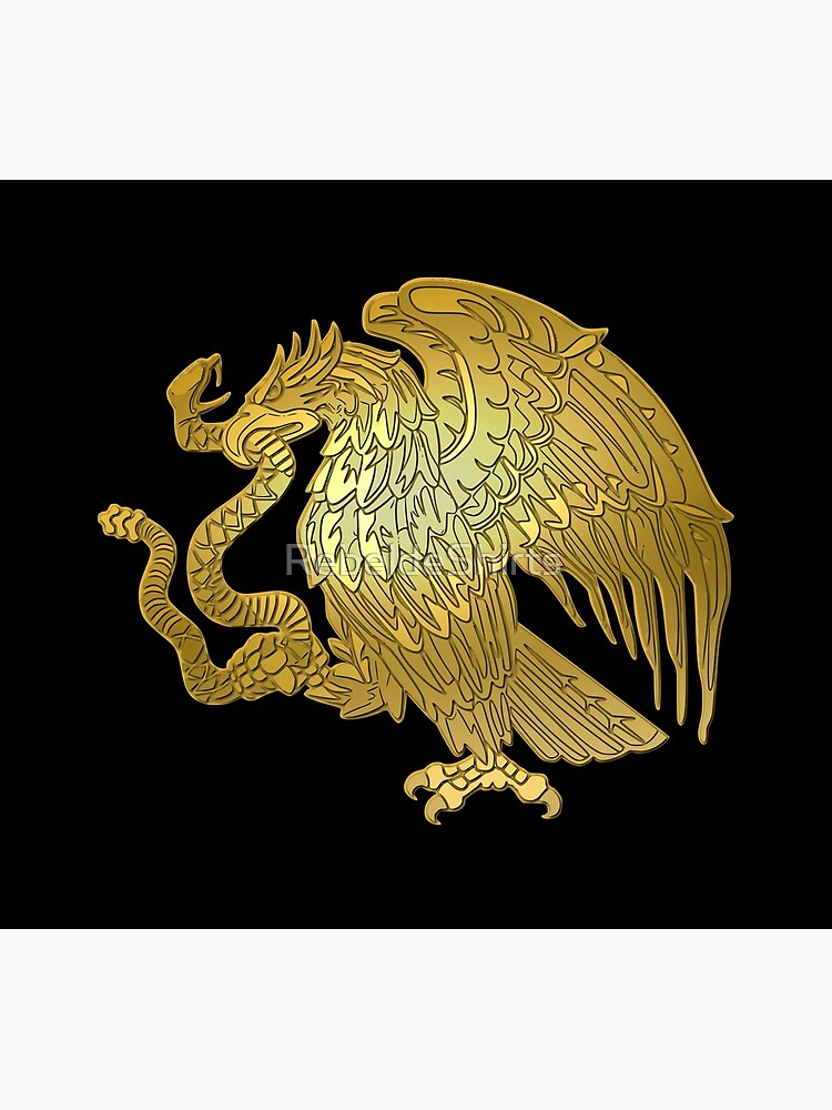 Gold Mexican Eagle  by RebeldeShirts