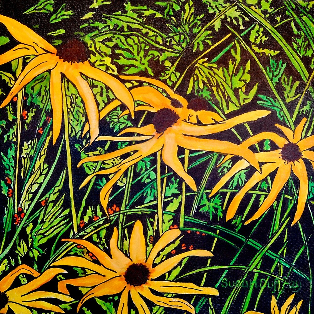 Rudbeckias by Susan Scott
