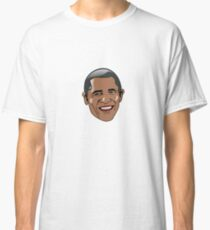 Cartoon Barack Obama Sticker / T-Shirt Classic T-Shirt
