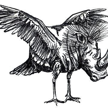 Craneoceros by cizauskas