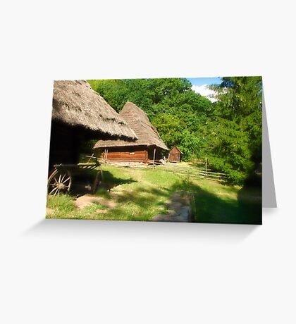 Ukranian Village - Pirogovo  II Greeting Card