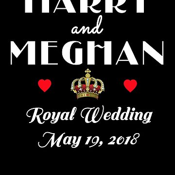 HARRY AND MEGHAN Commemorative  by Greenbaby