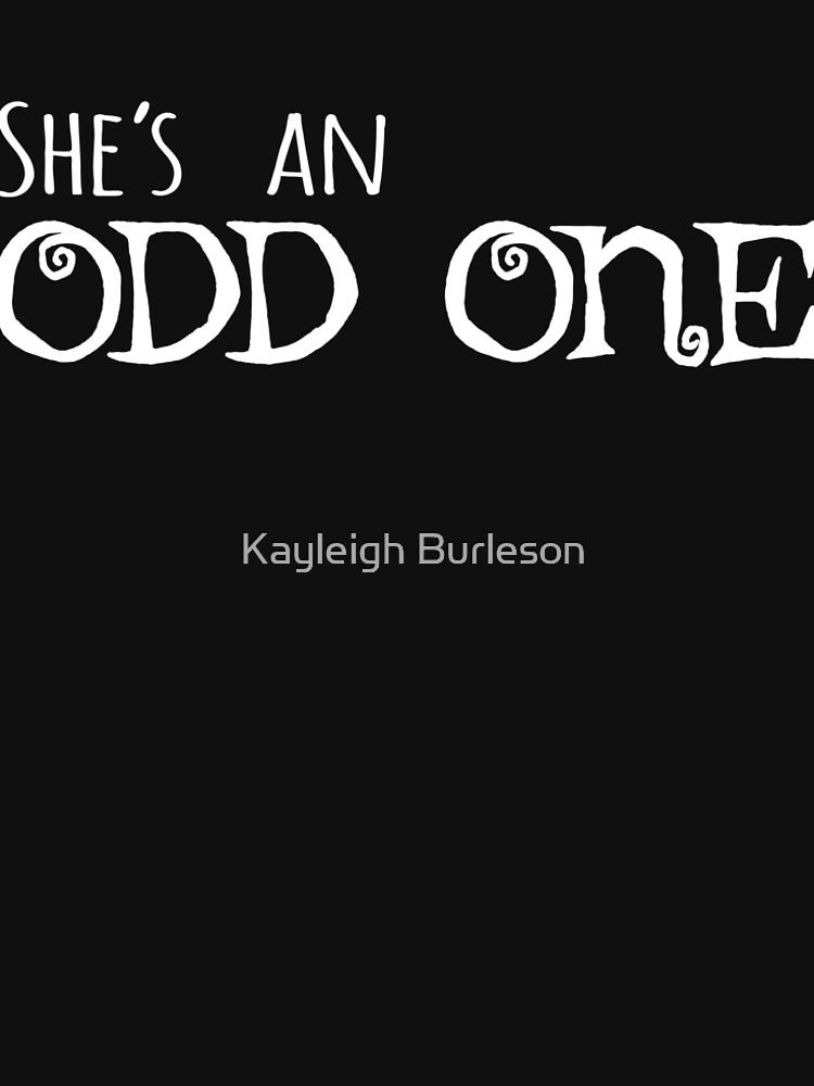 She's an Odd One by Spooky8586