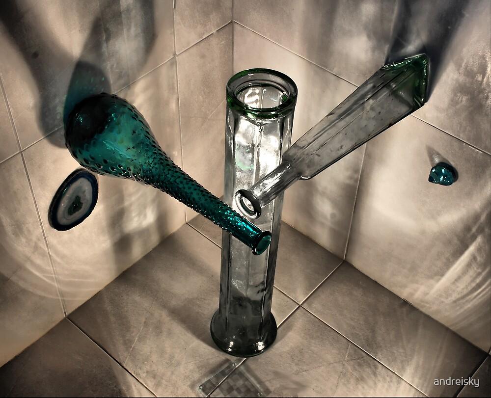 Bottles 3D by andreisky