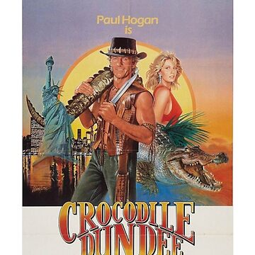 Crocodile Dundee by pinkney