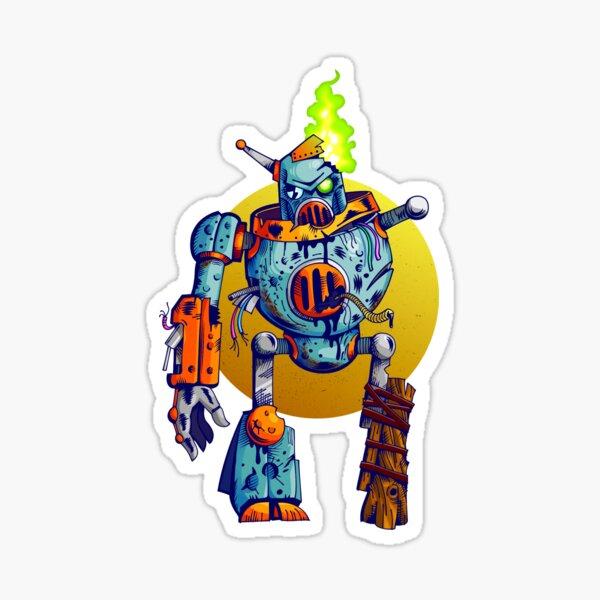 Undead Robot Sticker