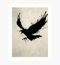Lámina artística Cuervo