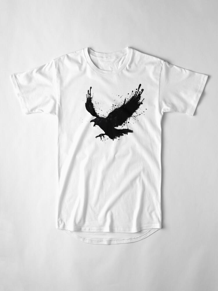 Vista alternativa de Camiseta larga Cuervo