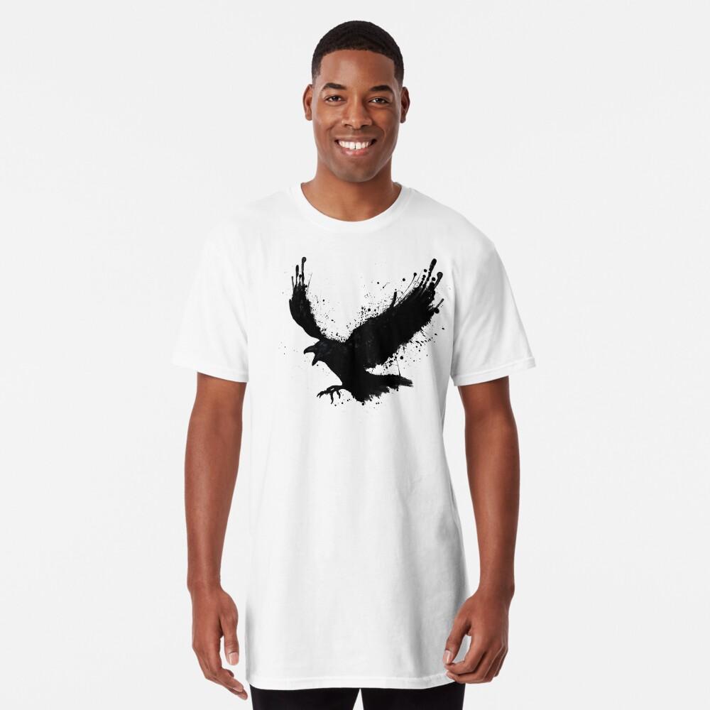 Cuervo Camiseta larga