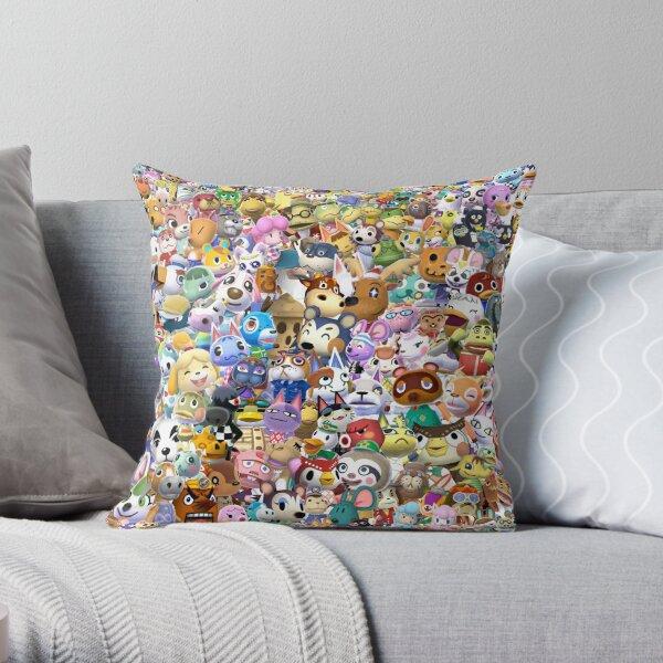 Animal Crossing (Duvet, Phoen case, sticker etc) Throw Pillow