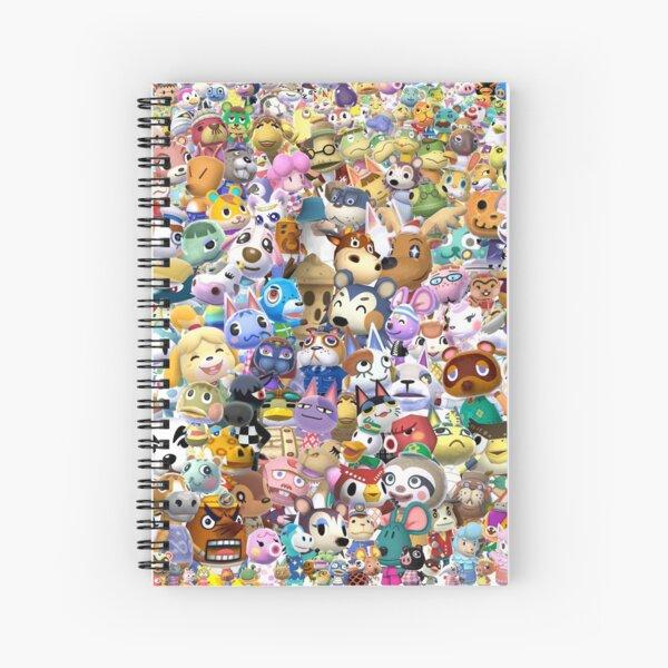 Animal Crossing (Duvet, Phoen case, sticker etc) Spiral Notebook