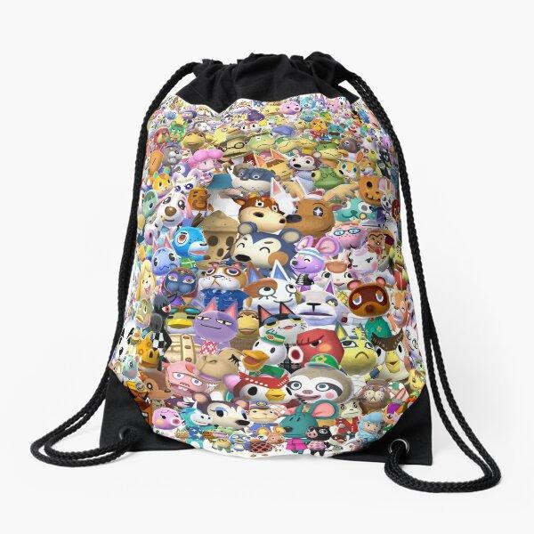 Animal Crossing (Duvet, Phoen case, sticker etc) Drawstring Bag