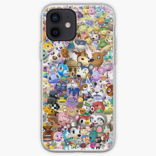 Animal Crossing (Duvet, Phoen case, sticker etc) iPhone Soft Case