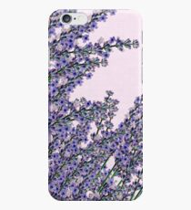 Chic pink purple cute lavender flowers pattern iPhone 6s Case