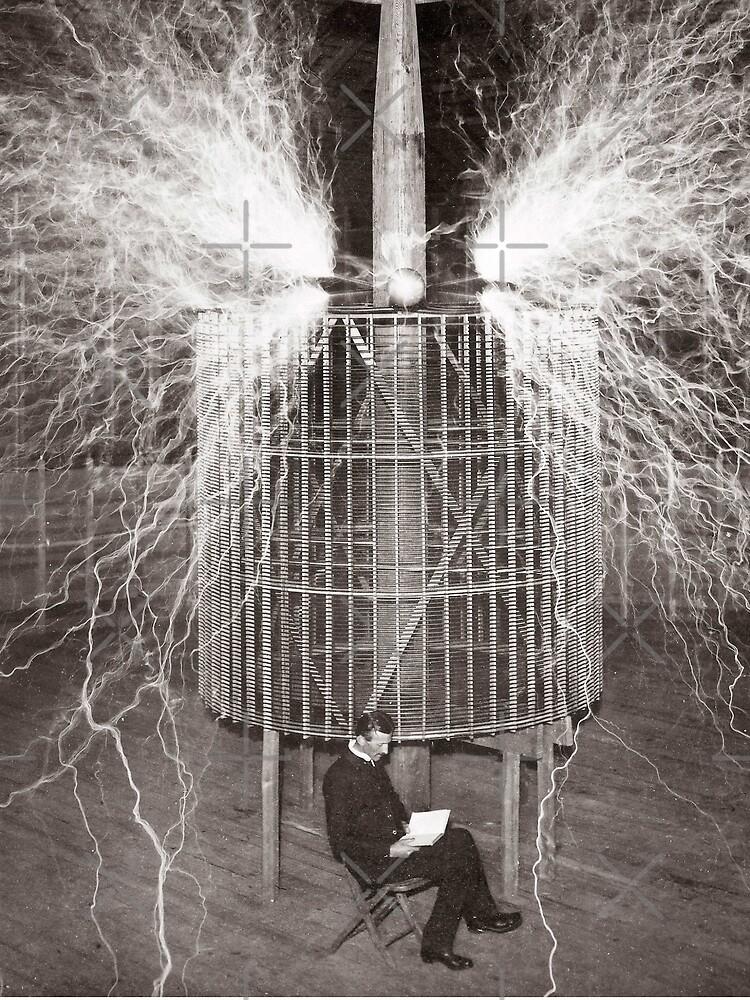 Nikola Tesla von ValentinaHramov