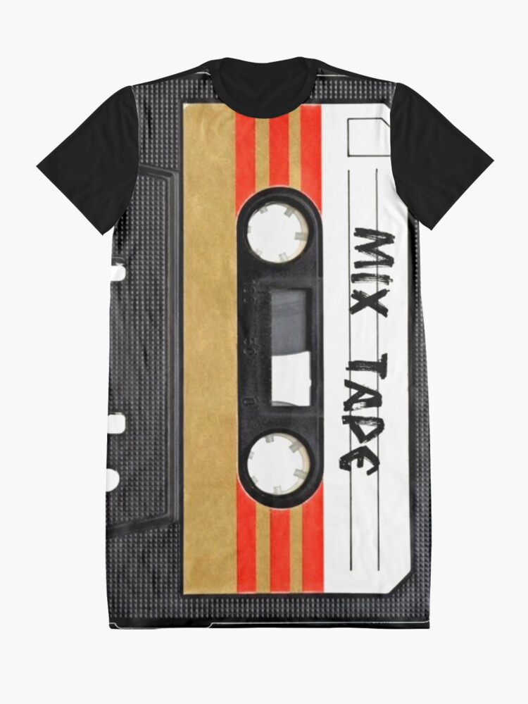 Alternate view of Cassette Tape Graphic T-Shirt Dress