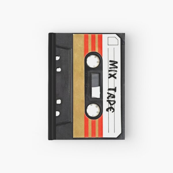 Cassette Tape Hardcover Journal