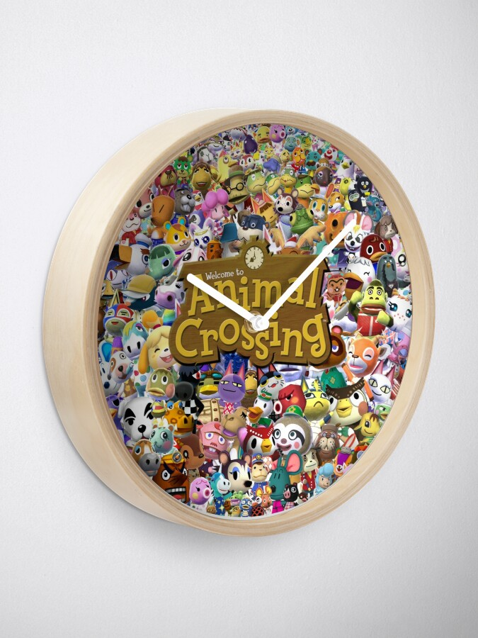 Alternate view of Animal Crossing 2 Clock