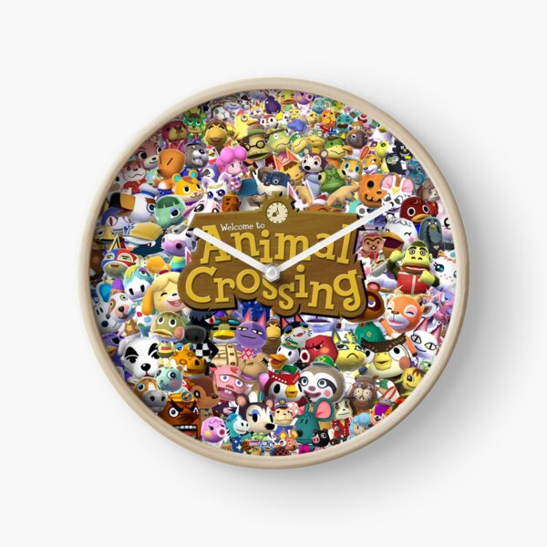Animal Crossing 2 Clock