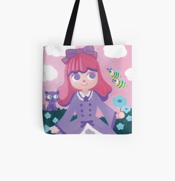 Hello Bee Bee All Over Print Tote Bag