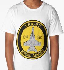 F/A-18 VFA-27 Royal Maces Long T-Shirt