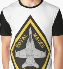 F/A-18 VFA-27 Royal Maces Graphic T-Shirt