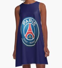 paris saint german football club A-Line Dress