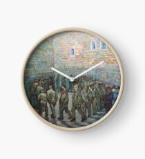 The Round of the Prisoners (after Doré) - Van Gogh Clock