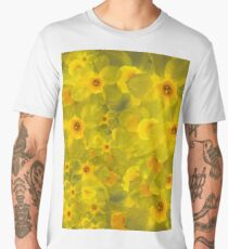 Narcissus bouquet Men's Premium T-Shirt