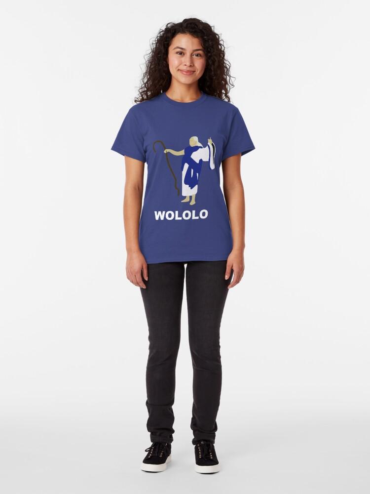 Alternative Ansicht von Wololo (blau) Classic T-Shirt