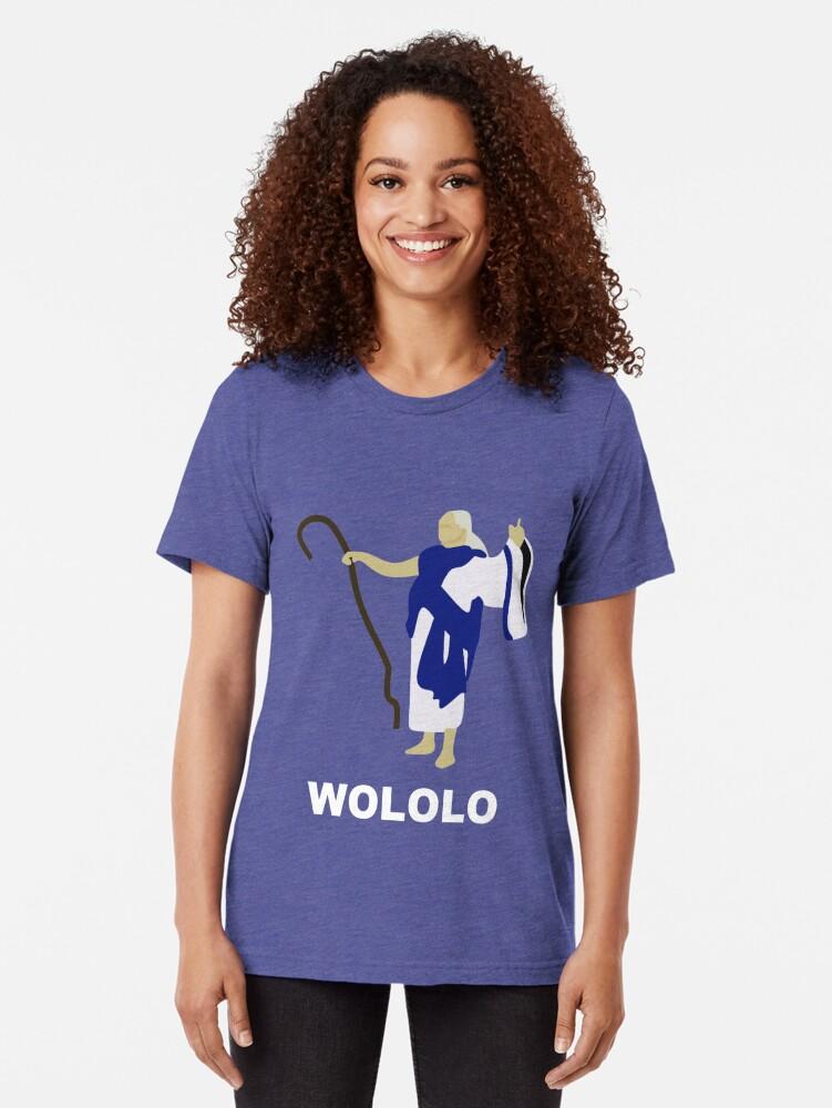 Alternative Ansicht von Wololo (blau) Vintage T-Shirt