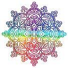 Rainbow Mandala by tinymystic