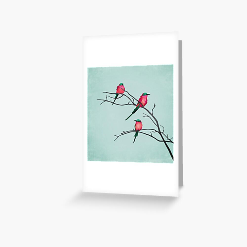 Cardinal birds Greeting Card