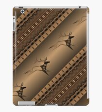 Elk Spirit (Brown) iPad Case/Skin