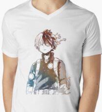 Todoroki Galaxy Men's V-Neck T-Shirt