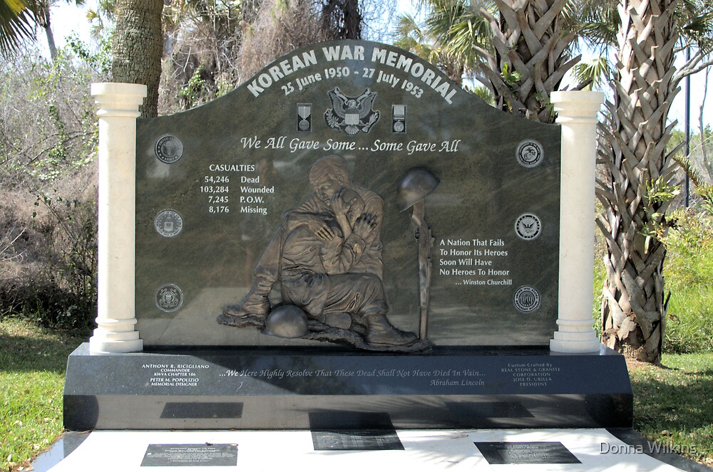 Korean War Memorial by Donna Adamski