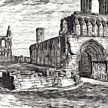 The ruins of St Andrews Cathedral, St Andrews, Fife, Scotland 1158 by ZipaC