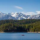 Eibsee Lake by Dominika Aniola