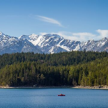 Eibsee Lake by domcia