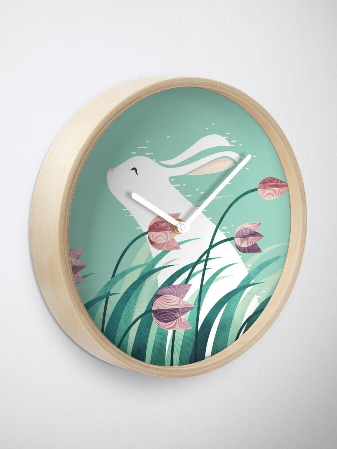 Alternate view of Rabbit, Resting Clock