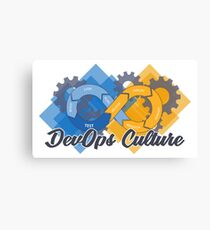 DevOps Culture  Canvas Print