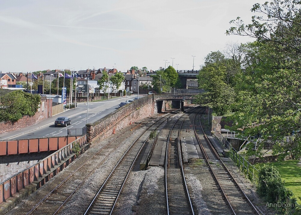 Railway Lines by AnnDixon